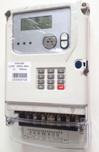 Three Phase Sts Keypad Prepayment Electric Meter pictures & photos