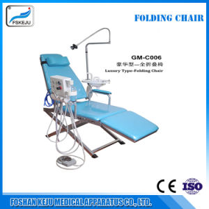 Dental Portable Folding Chair Air Turbine Unit portable Dental Unit pictures & photos