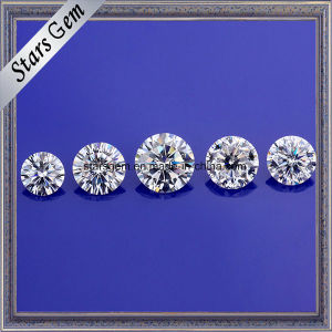 Hot Sale Products Vvs Excellent Cutting Round Ef White Synthetic Moissanite pictures & photos