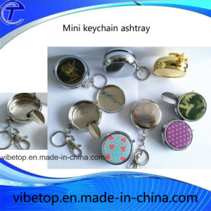 China Manufacturers Export Beautiful Creative Metal Mini Portable Ashtray pictures & photos