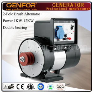 Double Bearing 2-Pole Single Phase Synchronous AC Alternator 2kw pictures & photos