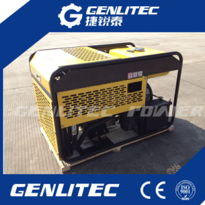 10kVA Water Cooled 2 Cylinder Diesel Generator Portable (Changchai EV80) pictures & photos
