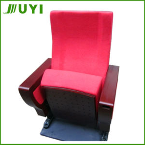 Jy-997m Fabric Auditorium Seating Lecture Hall Cheap Wooden Theater Chair pictures & photos