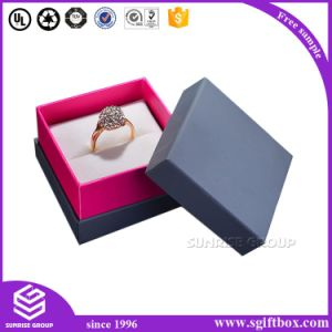High-End Royal Blue Color Wooden Paper Jewelry Watch Box pictures & photos