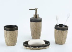 Sand Antique Polyresin Bathroom Accessory pictures & photos