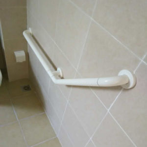 Bathroom Veritcal Angle Grab Bars with Folding Leg for Disabled pictures & photos