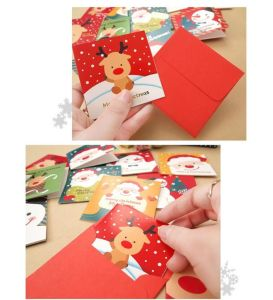 2017 Greeting Merry Christmas Card Mc01 pictures & photos