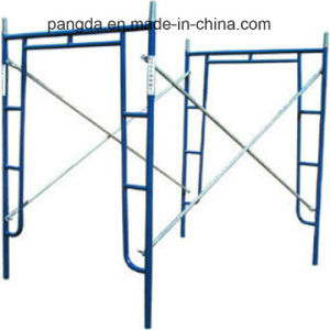 China Painted H Frame Scaffolding System for Construction pictures & photos