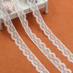 New Design Fabric Nylon White Lace pictures & photos