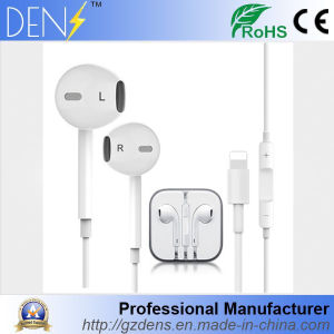 Wire Headphone with Microphone for iPhone7 pictures & photos
