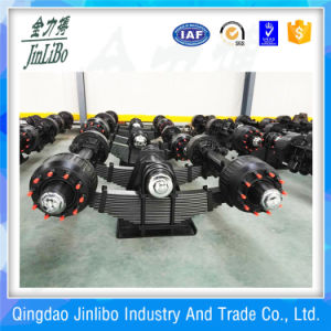 Trailer Part Trailer Bogie Suspension with Leaf Spring pictures & photos
