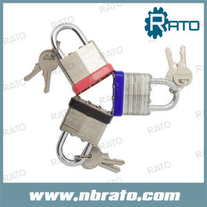 Laminated Padlock with Brass Cylinder and Brass Key pictures & photos