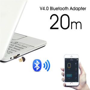 Computer CSR Plated Copper USB Audio Bluetooth 4.0 Adapter Dongle pictures & photos