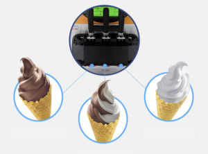 Soft Cream Maker Machine Commercial Ice Cream Machine with 10 Years Experience pictures & photos