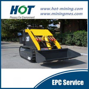 Alh280 Wheel Small Loader Skid Steer Mini Loader pictures & photos
