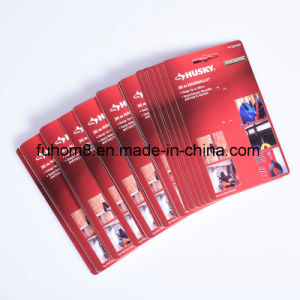 Customzied Printed Plastic PP/PVC/Pet Display Hang Packaging Tag pictures & photos