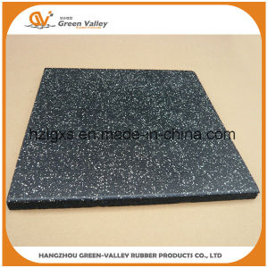 50X50cm Safety Composite Rubber Floor Tiles Mat for Crossfit pictures & photos