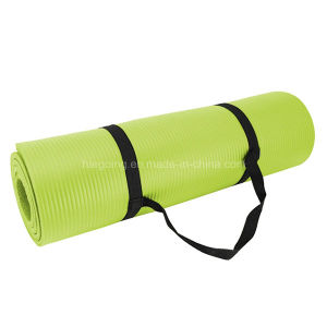 Anti-Slip Eco Friendly NBR Yoga Mat Mesh Bag pictures & photos