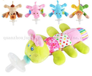 OEM Silicone Baby Plush Doll Toy with Soother Pacifier pictures & photos