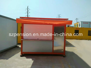 High Quality Movable Modern Conenvient Mobile Prefabricated/Prefab Coffee House/Bar pictures & photos