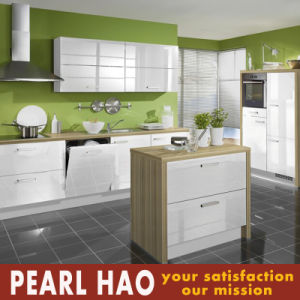 Pakistan Projects Modern White Acrylic Wood Kitchen Furniture pictures & photos