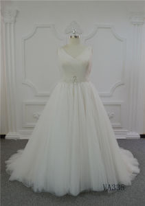 Champagne Wedding Dresses Bridal Gown Wedding Dresses 2017 Ball Gown Wedding Dress China pictures & photos