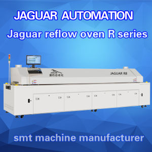 Reflow Oven PCB Production / SMD PCB Soldering After Pick and Place pictures & photos