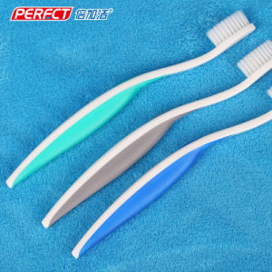 Perfect White Handle Soft Toothbrush pictures & photos