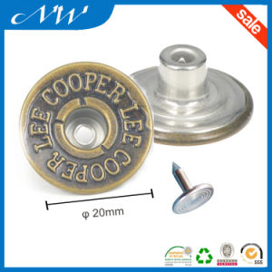 Factory Price Metal Shank Button for Jeans Wear pictures & photos