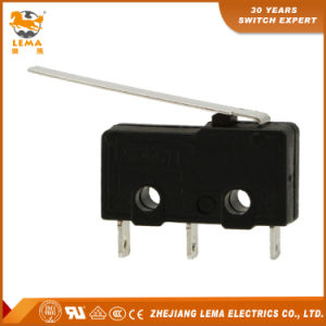 Lema Kw12-92 5A Long Lever Mini Micro Switch pictures & photos