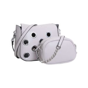 Fashion Eyelets Bag in Bag Design Lady Bag (MBNO042058) pictures & photos