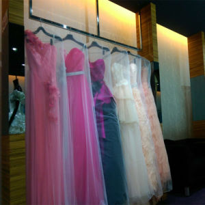 Light Thin Transparent Net Mesh Breathable Wedding Dress Bag pictures & photos