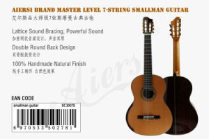 Professional Grade Seven String Smallman Classical Guitar (SC3007S) pictures & photos