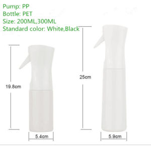 200ml Continuous Spray Pot Spray Bottle pictures & photos