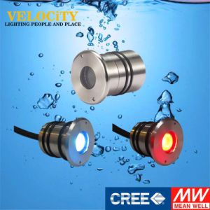 1W/2W/3W 24V IP68 RGB Surface Mounted Aquarium Underwater Pool Lighting pictures & photos