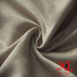 Brushed Polyester Suede Fabric for Boots/Cloth/Hometextile pictures & photos
