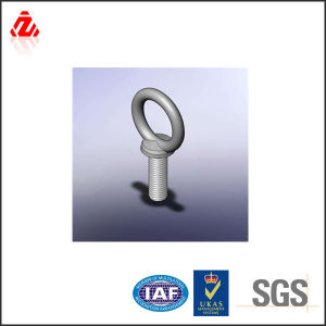 High Quality Carbon Steel Hook and Eye Bolt Made in China pictures & photos