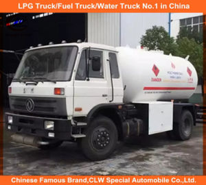 Promotional LPG Bobtail 5ton Propane Gas Tank Truck 10cbm Liquified Petroleum Gas Truck pictures & photos