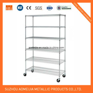 Metal Wire Display Exhibition Storage Shelving for Slovenia   Shelf pictures & photos