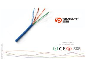 CE/RoHS Approved UTP Cat5e Patch Cord / Cable pictures & photos