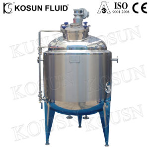 Saintary Stainless Steel Juice Yogurt Honey Tomato Sauce Beverage Mixing Tank for Food Use pictures & photos