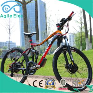 36V 250W Green Motorized Electric Bicycle with Samsung Battery pictures & photos