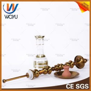 Stainless Steel Water Pipes Nargile Tobacco Golden Shisha Hookah pictures & photos