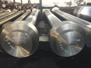 SAE4145h SAE1045 Carbon Steel Forged Special Shaft pictures & photos