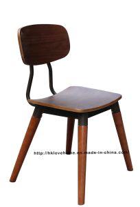 Morden Dining Restaurant Furniture Walnut Copine Sean Dix Chair pictures & photos