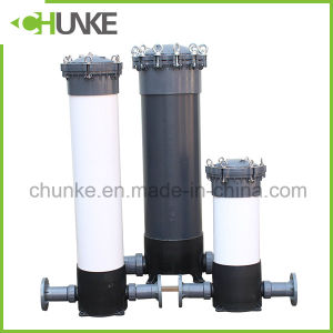 Chunke Industrial Ss/PVC PP Cartridge Filter Hosuing for Pure Water pictures & photos