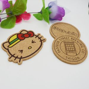 2mm Thickness Cork Coaster Pad New Model Cup Mat Pad pictures & photos