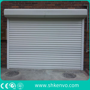 Metal or Aluminum Electric Security Overhead Garage Roller Shutter pictures & photos