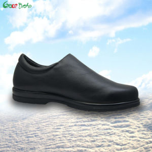 Leather Health Lady Shoes Leisure Comfortable Footware pictures & photos