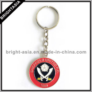 Zinc Alloy Charming Key Ring for Football Club (BYH-101165) pictures & photos